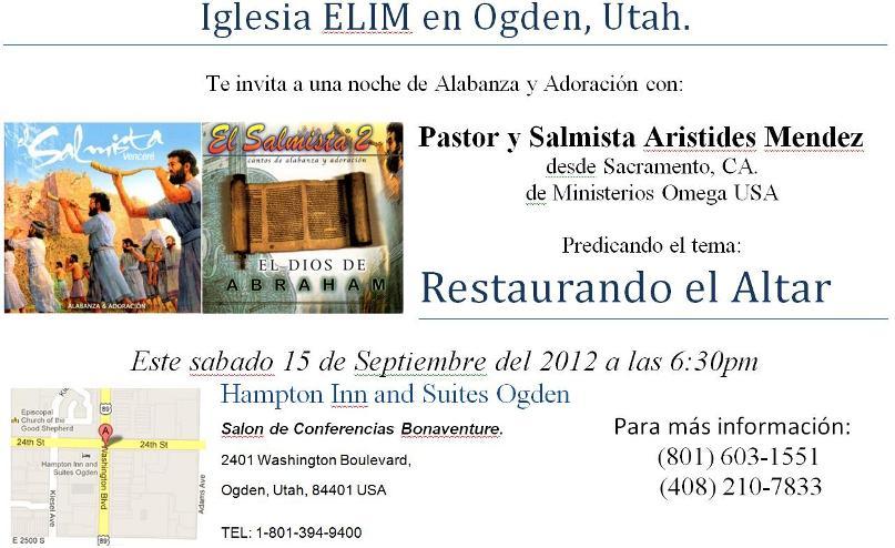 Iglesia Elim Ogden Utah