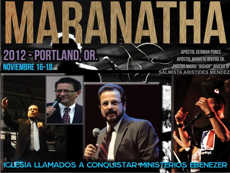 Maranatha Portland, OR.